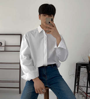 위텐드 히든 셔츠